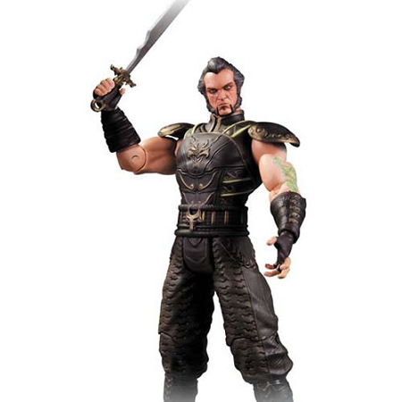 Batman Arkham City: Series 3 Ra's al Ghul Figure