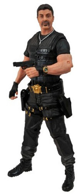 The Expendables 2: Barney Ross w/o Beret Action Figure