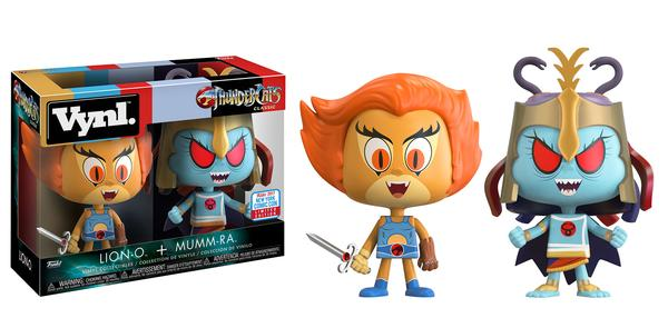 Funko Vinyls: Thundercats - Lion-O & Mumm-Ra Vinyl Figure 2-Pack (NYCC 2017 Exclusive)