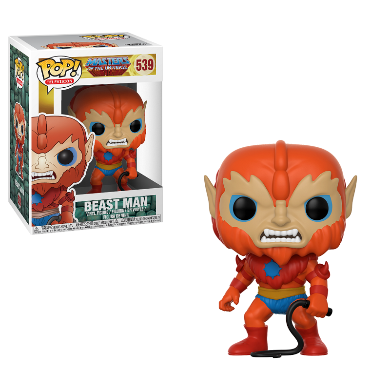 POP! Television: Masters of the Universe - Beast Man Vinyl Figure #539