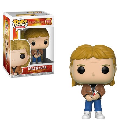 [PRE-SALE] POP! Television: MacGyver - MacGyver Vinyl Figure #707 [Ships in September]