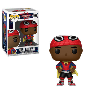 [PRE-SALE] POP! Heroes Marvel: Spider-Man: Into the Spider-Verse - Caped Miles Morales Vinyl Bobblehead Figure #403 [Ships End of October]