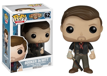 POP! Games: Bioshock Infinite - Booker DeWitt Vinyl Figure #62