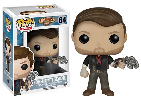 POP! Games: Bioshock Infinite - Skyhook Booker DeWitt Vinyl Figure #64