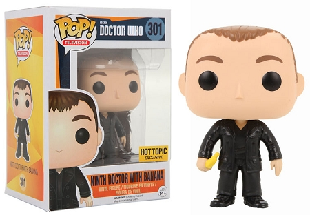 POP! Television: Doctor Who - Ninth Doctor with Banana Vinyl Figure #301 (Hot Topic Exclusive)