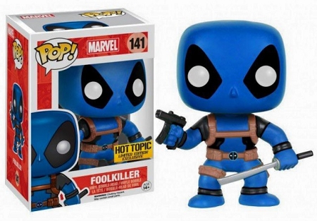 POP! Heroes Marvel: Deadpool - Foolkiller Vinyl Bobblehead Figure #141 (Hot Topic Exclusive)