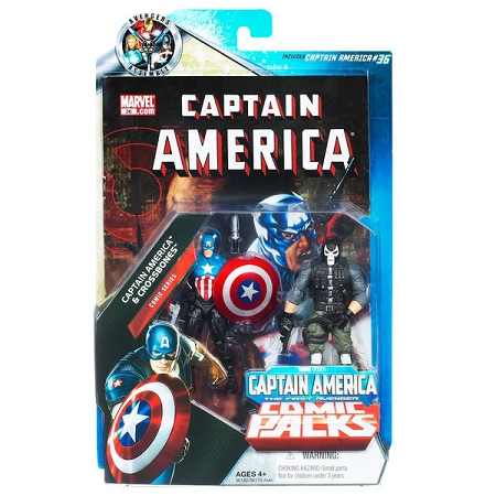 Marvel Comic Packs: Captain America & Crossbones Action Figure 2-Pack (Target Exclusive)