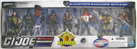 G.I. Joe: Slaughter's Marauders Battle Set 7-Pack (Big Bad Toy Store Exclusive)