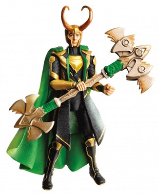 Marvel Movie Series: The Avengers - Cosmic Spear Loki Figure