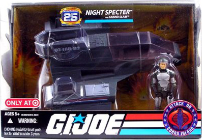 G.I. Joe 25th Anniversary: Attack On Cobra Island - Night Specter w/ Grand Slam Action Figure (Target Exclusive)