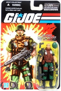 G.I. Joe Club: Military Police Officer - Code Name: Sure Fire Action Figure