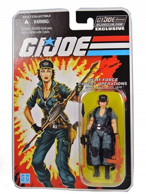 G.I. Joe Club: Night Force Covert Operations - Code Name: Lady Jaye Action Figure