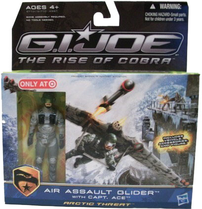 G.I. Joe The Rise of Cobra: Air Assault Glider with Capt. Ace Action Figure (Target Exclusive)