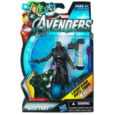 Marvel Movie Series: The Avengers - Assault Squad Nick Fury Action Figure