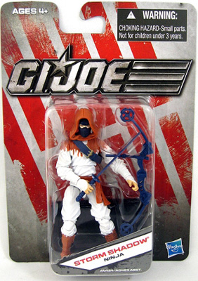 G.I. Joe The Toy Box:  Storm Shadow (Orange) 3 3/4