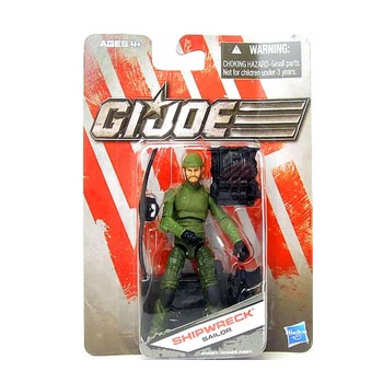 G.I. Joe The Toy Box:  Shipwreck Sailor (Green) 3 3/4