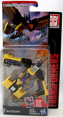 Transformers Generations: Combiner Wars - Legends Class Buzzsaw Action Figure