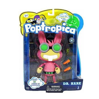 Poptropica - Dr. Hare Action Figure