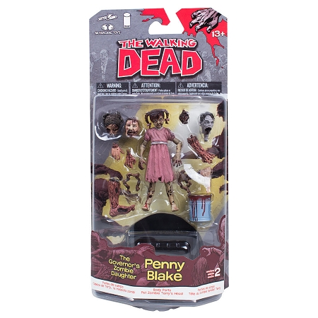 McFarlane Toys: The Walking Dead - Penny Blake The Governor's Zombie Daughter Action Figure Series 2 (SDCC 2013 Exclusive)