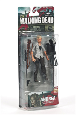 McFarlane Toys: The Walking Dead  - Andrea Action Figure Series 4