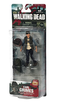 McFarlane Toys: The Walking Dead - Carl Grimes Action Figure Series 4