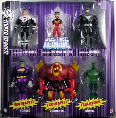 Mattel DC Super Heroes: Justice League Unlimited - Justice Lords Action Figure Multi-Pack