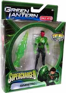 Mattel DC Green Lantern: Supercharged Sinestro Figure (Target Exclusive)