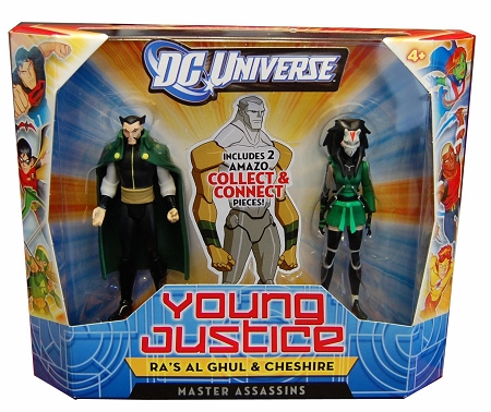 Mattel DC Universe: Young Justice - Master Assassins: Ra's al Ghul & Chesire Figure 2-Pack