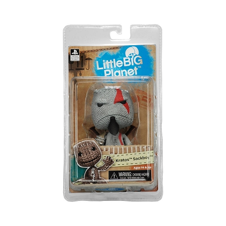 NECA Little Big Planet: Kratos Sackboy 5