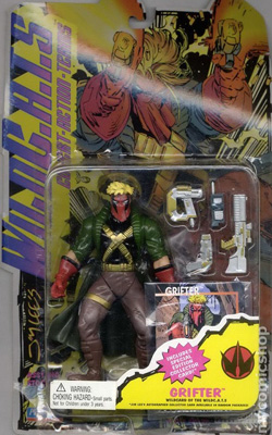 Playmates: Wild C.A.T.S Grifter Action Figure (Flawed)