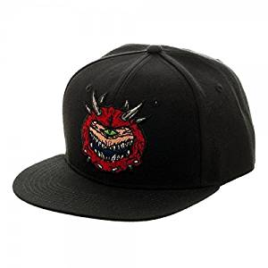 Doom Black Caco Demon Snapback Cap
