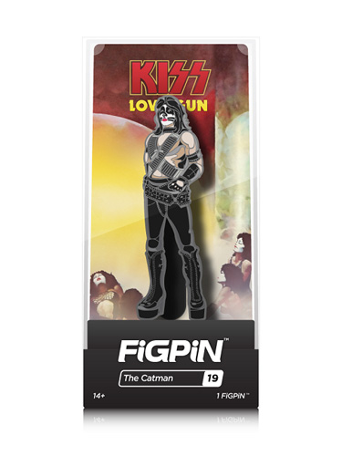KISS Love Gun: The Catman FiGPiN #19