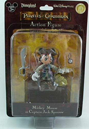 Disney Parks: Pirates of the Caribbean - Mickey Mouse as Jack Sparrow Action Figure (Disney Parks Exclusive)