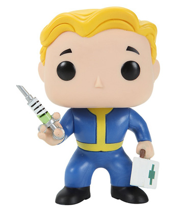 POP! Games Fallout Medic Vinyl Figure EXCLUSIVE
