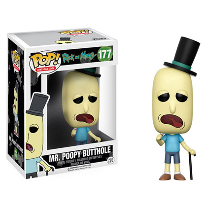 POP! Animation Rick and Morty Mr. Poopy Butthole Vinyl Figure
