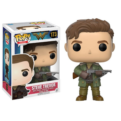 POP! Heroes DC: Wonder Woman 2017 - Steve Trevor Vinyl Figure #173