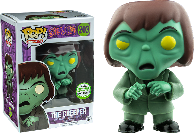 POP! Animation Scooby-Doo! The Creeper  Emerald City Comic Con 2017 Spring Convention Exclusive Vinyl Figure
