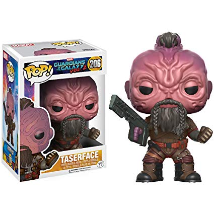 POP! Movies Marvel Guardians of the Galaxy Vol. 2 Taserface Vinyl Bobble Head Figure