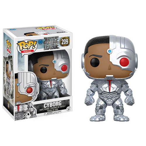 POP! Movies: DC Justice League - Cyborg Vinyl Figure