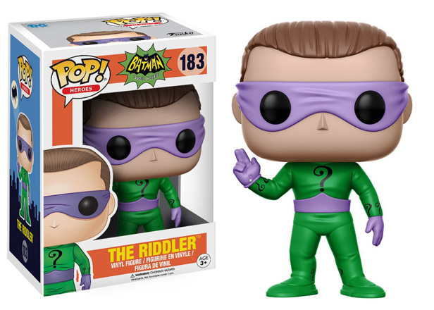 POP! Heroes DC: Classic Batman - The Riddler Vinyl Figure #183