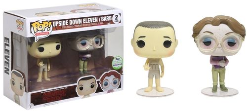 POP! Television Stranger Things Upside Down Eleven/ Barb Emerald City Comic Con Convention Exclusive Retail Vinyl Figure