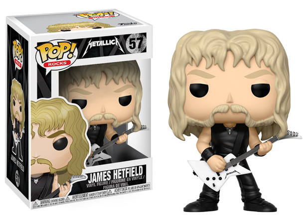 POP! Music: Metallica - James Hetfield