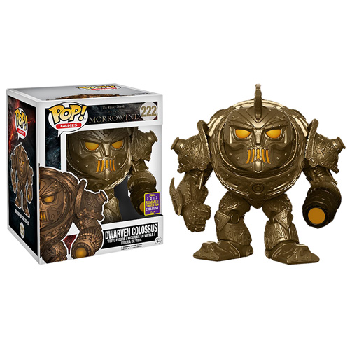 POP! Games: Elder Scrolls Online - Dwarven Colossus Vinyl Figure (SDCC EXCLUSIVE)*
