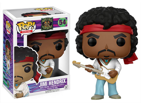 POP! Rocks Purple Haze Properties Jimi Hendrix Vinyl Figure