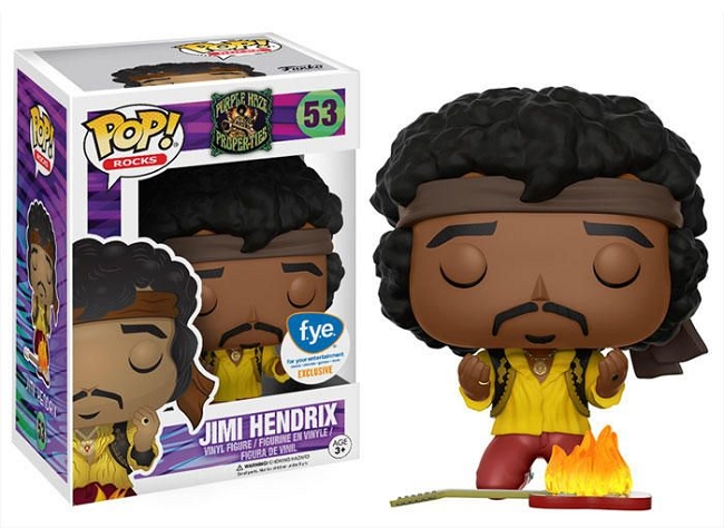 POP! Rocks: Jimi Hendrix Vinyl Figure #53 (FYE Exclusive)