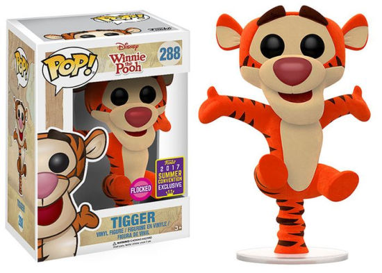 POP! Disney: Winnie the Pooh - Bouncing Tigger Vinyl Figure Flocked (SDCC EXCLUSIVE)*