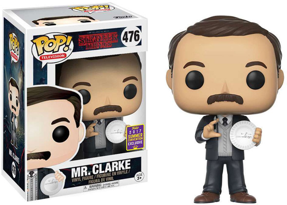 POP! Television: Stranger Things - Mr. Clarke Vinyl Figure (SDCC EXCLUSIVE)*