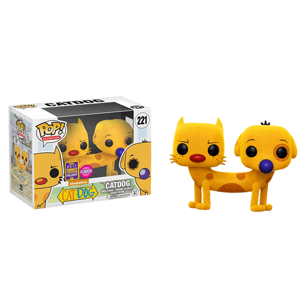 POP! Animation: Catdog Vinyl Figure Flocked (SDCC EXCLUSIVE)*