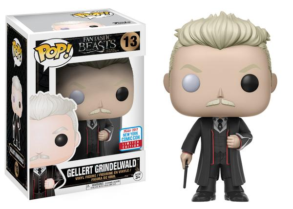 POP! Movies: Fantastic Beasts - Gellert Grindelwald Vinyl Figure #13 (NYCC 2017 Exclusive)