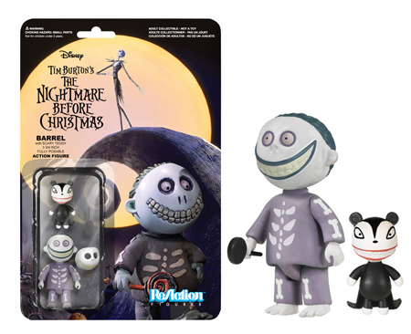 Funko ReAction: Nightmare Before Christmas - Barrel Action Figure